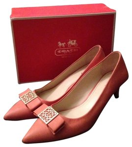 Coach Pink Pumps