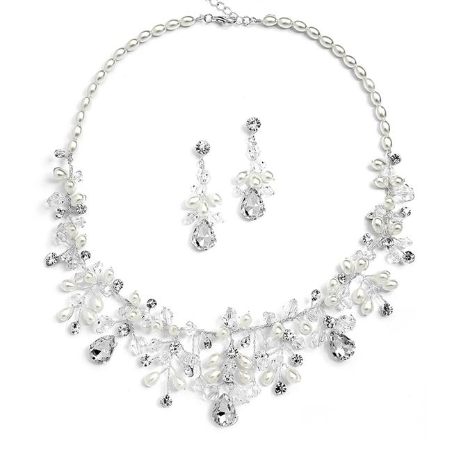 Item - Pearl/Crystal Handmade with Assorted and Rice 4009s Necklace