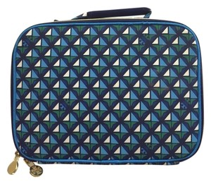 Tory Burch Tory Burch For Target Blue Green White Cosmetic Bag