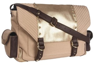 Juicy Couture Rich Camel/Gold Messenger Bag
