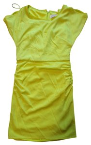 Jessica Simpson short dress yellow / neon green on Tradesy