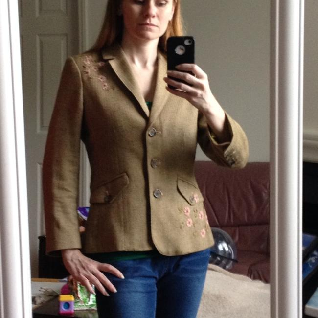 American Eagle Outfitters Olive Green Blazer