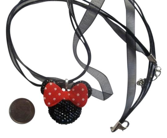 Preload https://item3.tradesy.com/images/mickey-mouse-chunky-black-rhinestone-bling-big-red-bow-charm-mouse-necklac-1270627-0-0.jpg?width=440&height=440