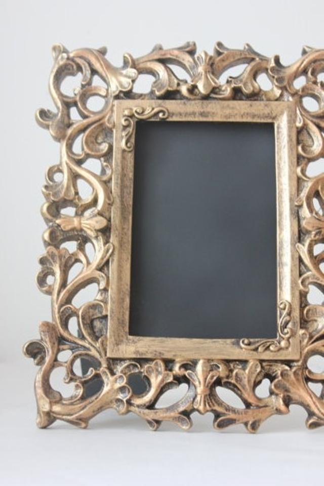 Gold 10 Vintage Style Frames Picture Frame Table Numbers Baroque ...