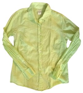 J. Crew Button Down Shirt Lime