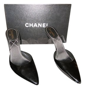Chanel Patent Leather Evening Black Formal