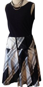 Nanette Lepore Skirt Black And Plaid