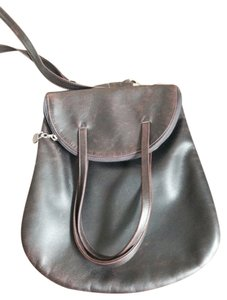 Casa Lopez Leather Shoulder Bag