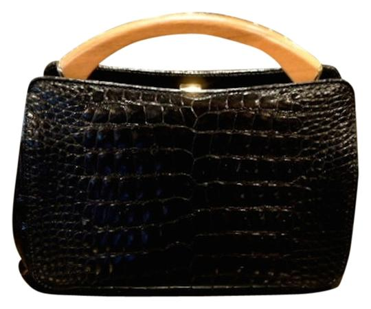 Other Dress Black Alligator Clutch