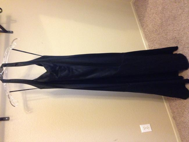 David Meister Retro Vintage Pinup Gown Ball Gown Stretchy Fishtail Dress