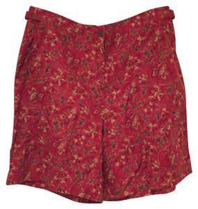 Ralph Lauren Dress Shorts Red