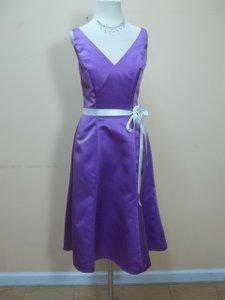 Impression Bridal Purple/Ivory 1666 Dress