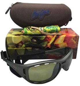 Maui Jim Polarized MAUI JIM Sunglasses HT 410-11B WATERMAN Titanium Frame w/ Maui HT Lenses