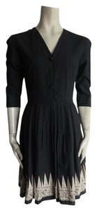 agnès b. short dress BLACK on Tradesy