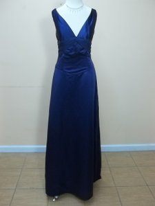 Impression Bridal Amethyst Satin 1698 Formal Bridesmaid/Mob Dress Size 14 (L)