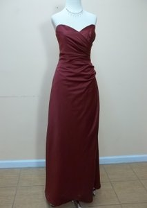 Impression Bridal Burgundy 1731 Dress