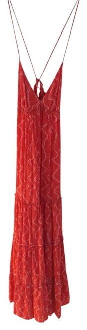 Item - Red Orange Mid-length Casual Maxi Dress Size 0 (XS)