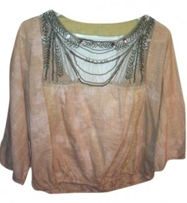 Preload https://img-static.tradesy.com/item/12713/free-people-peach-jeweled-open-back-blouse-size-4-s-0-0-650-650.jpg