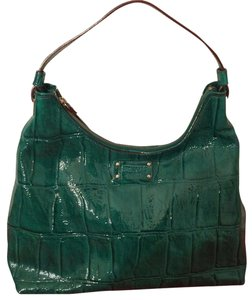 Kate Spade Crocodile Patent Leather Shoulder Bag
