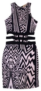 Arden B. Tribal Print Tribal Print Print Clothing Tribal Tribal Print Black White Xs Xs Xs Print Dress