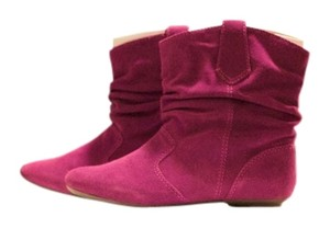 Steve Madden Suede Pink Boots