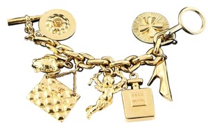 Chanel * Vintage and Rare Iconic Large Chanel Charms Bracelet