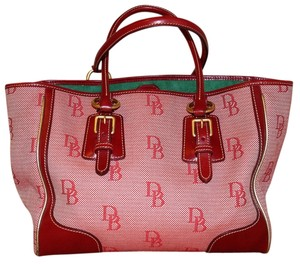 SOLDSOLDSOLDDooney & Bourke Tote in Red