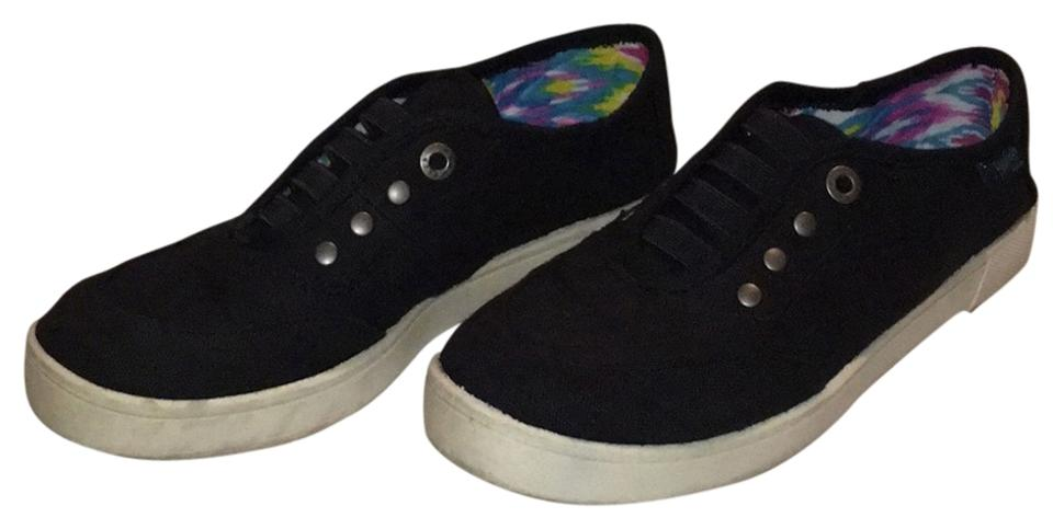 Blowfish Malibu Black Cozumel Linen Sneakers Size US 8 Regular (M 5a6ff2c7f1e
