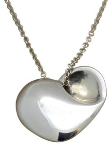 Tiffany & Co. Tiffany & Co. Heart Necklace Sterling Silver 16