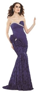 Tarik Ediz Strapless Mermaid Dress