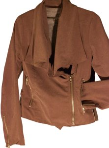 BB Dakota Coat Fw Motorcycle Suede Brown Bb Motorcycle Jacket