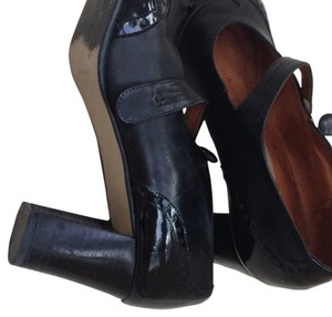 Bloomingdale's Pump Leather Womens Black Pumps