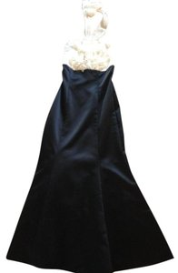 BCBGMAXAZRIA Halter Gown Ball Gown Dress
