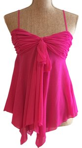 Other Date Night Tunic Summer Top Hot Pink
