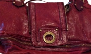 Marc by Marc Jacobs Satchel in Burgundy