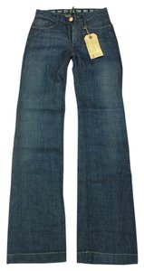 Earnest Sewn Wash Boot Cut Jeans-Dark Rinse