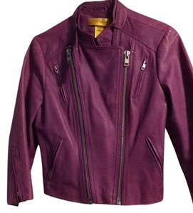 Catherine Malandrino Lavendar Leather Jacket