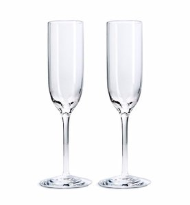 Tiffany & Co. Champagne Flutes (set Of 2)