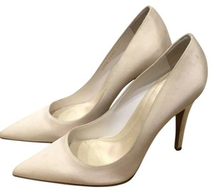 Sergio Rossi White Pumps