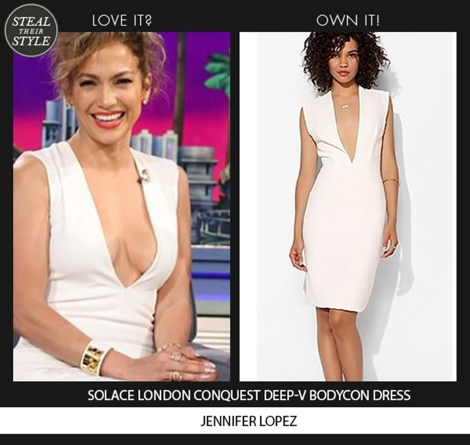 d75cdf20c6 Solace London White Conquest Knee Length Night Out Dress Size 6 (S ...