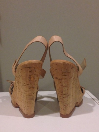 Sam Edelman Tan Wedges