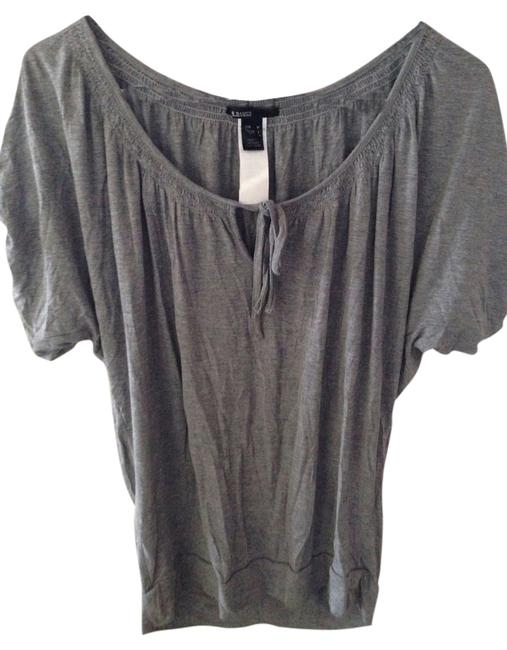 Mango T Shirt Gray