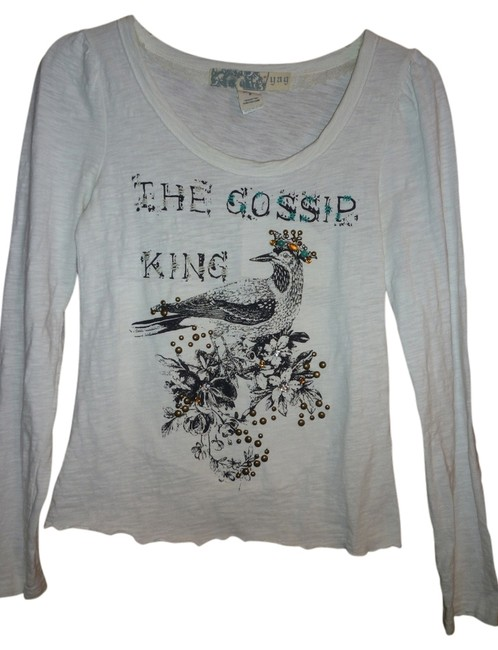 Preload https://item3.tradesy.com/images/yag-couture-jeweled-embroidered-tee-shirt-size-6-s-1271842-0-0.jpg?width=400&height=650