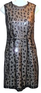 Jessica Simpson Leopard Sequin Dress