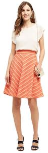 Anthropologie A-line Skirt Stripe