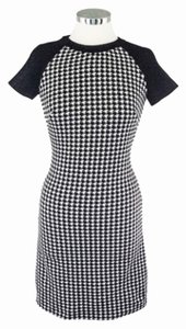 Taylor Work Office Houndstooth Dress