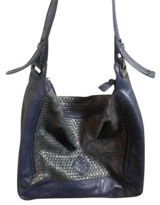 Vera Wang Faux Leather Handbag Shoulder Bag