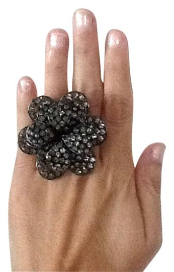 BCBG Max Azria NWOT BCBG Double Ring Statement Ring