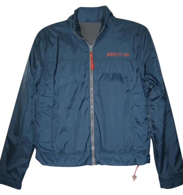 Preload https://item2.tradesy.com/images/american-eagle-outfitters-reversible-fleece-coat-blue-1272391-0-0.jpg?width=400&height=650