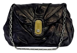 Dolce&Gabbana Black Leather Miss Pillow Shoulder Bag